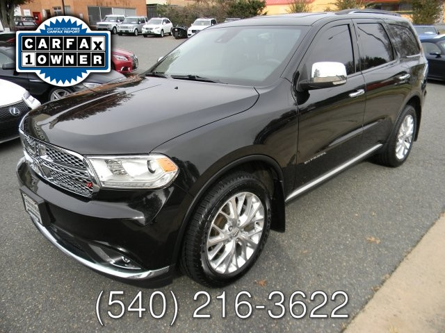 2014 Dodge DURANGO CITADEL ALL WHEEL DRIVE