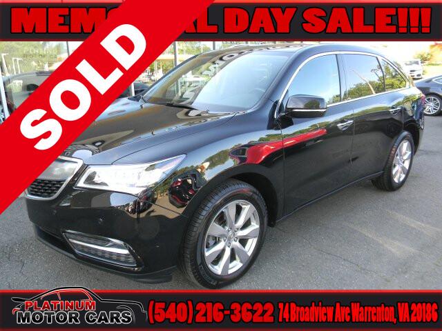 2016 Acura MDX 3.5L ADVANCE TECH
