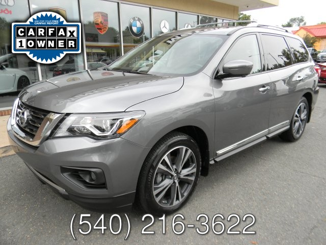2018 Nissan PATHFINDER PLATINUM 4 WHEEL DRIVE