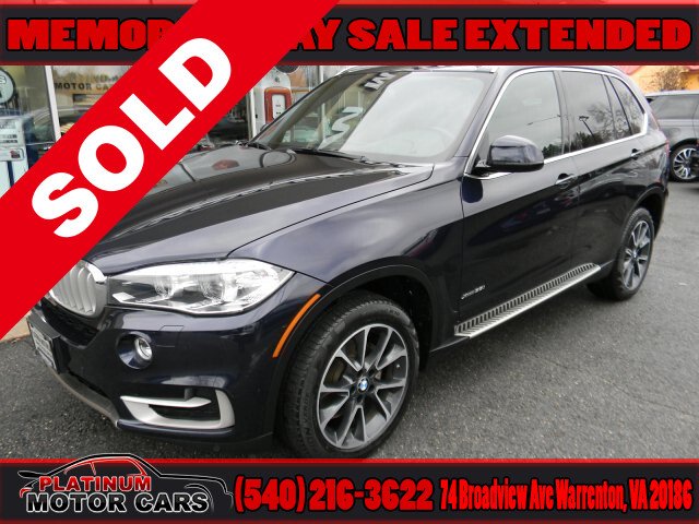 2017 BMW X5 XDRIVE 3.5I LUXURY LINE