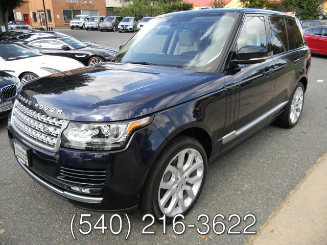 2015 Land Rover RANGE ROVER 3.0L SUPERCHARGED
