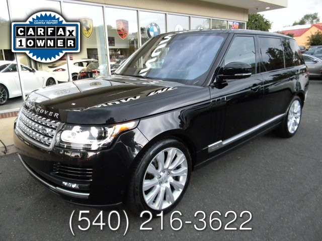 2016 Land Rover RANGE ROVER LWB 5.0L SUPERCHARGED