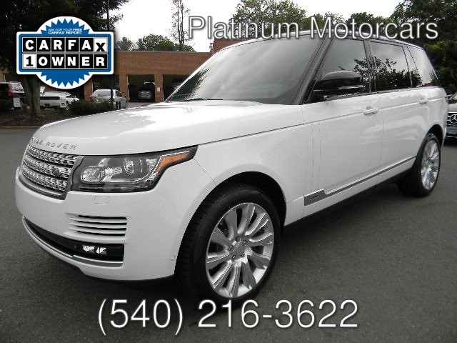 2015 Land Rover RANGE ROVER LWB 5.0L SUPERCHARGED