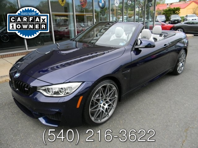 2017 BMW M4 M COMPETITION PACKAGE  CONVERTIBLE