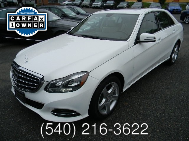 2015 Mercedes Benz E350 4MATIC