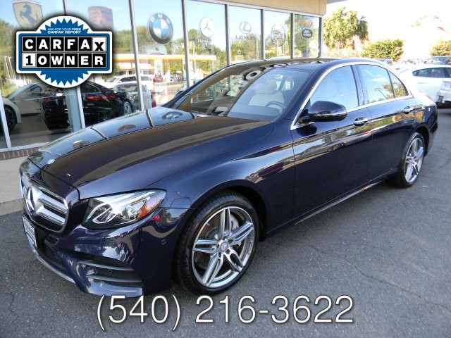 2017 Mercedes Benz E300 SPORT 4MATIC